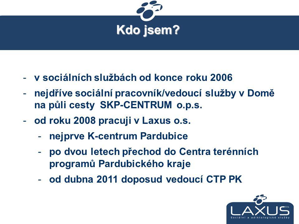 Kdo jsem v sociálních službách od konce roku 2006