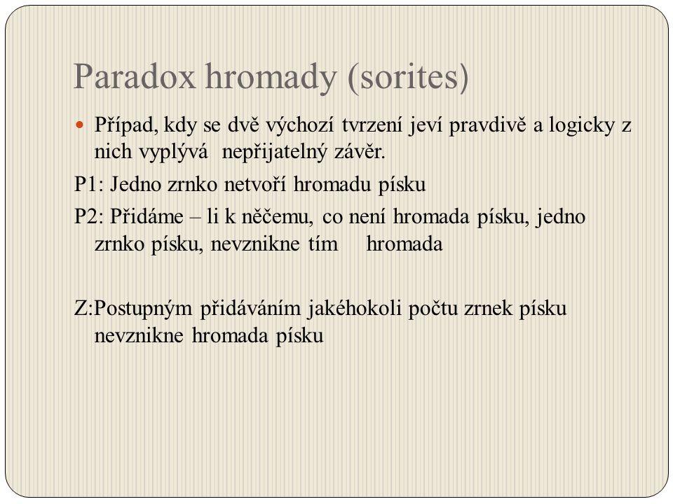 Paradox hromady (sorites)