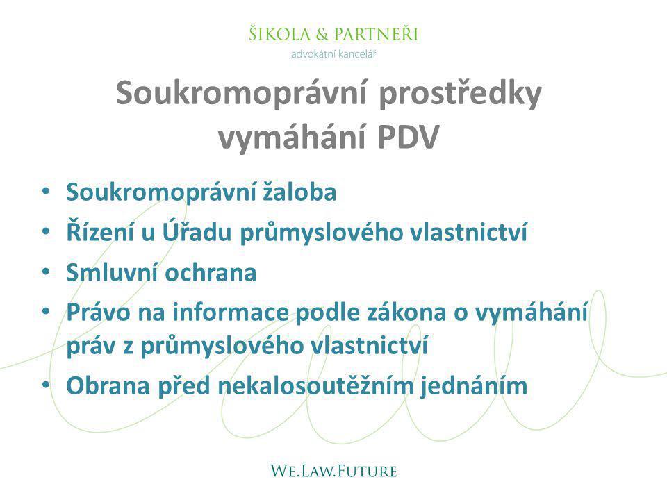 Soukromoprávní prostředky vymáhání PDV
