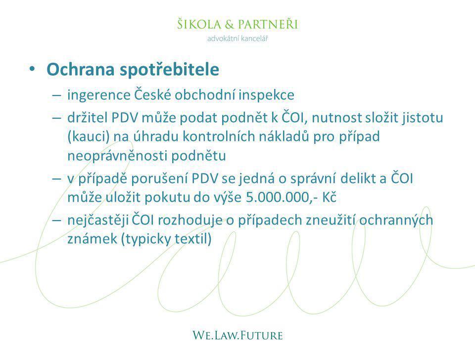Ochrana spotřebitele ingerence České obchodní inspekce