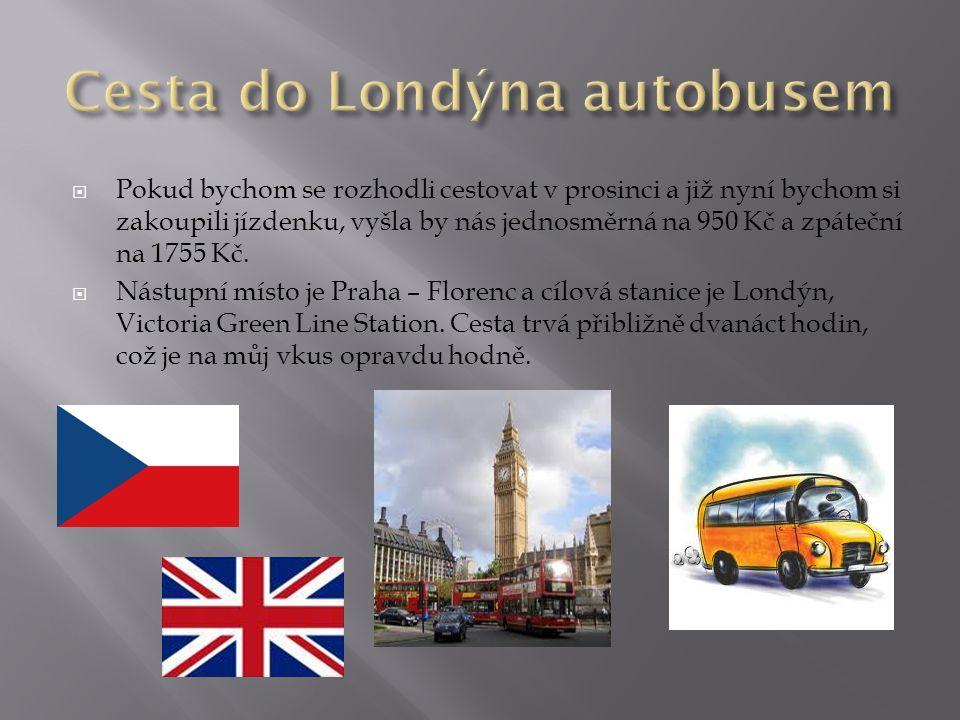 Cesta do Londýna autobusem