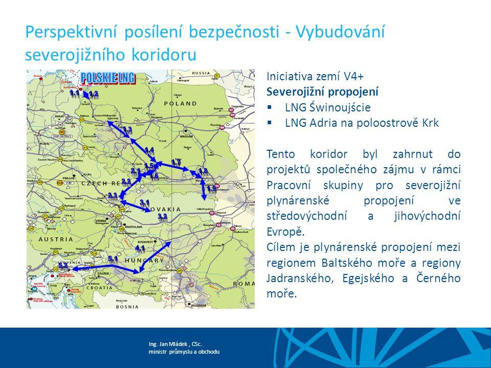 Perspektivní posílení bezpečnosti - Vybudování severojižního koridoru
