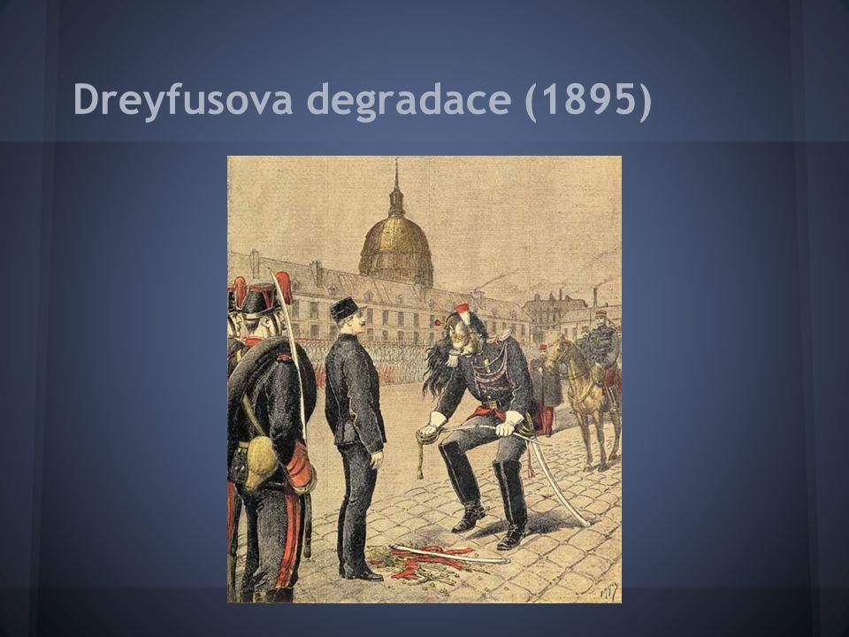 Dreyfusova degradace (1895)