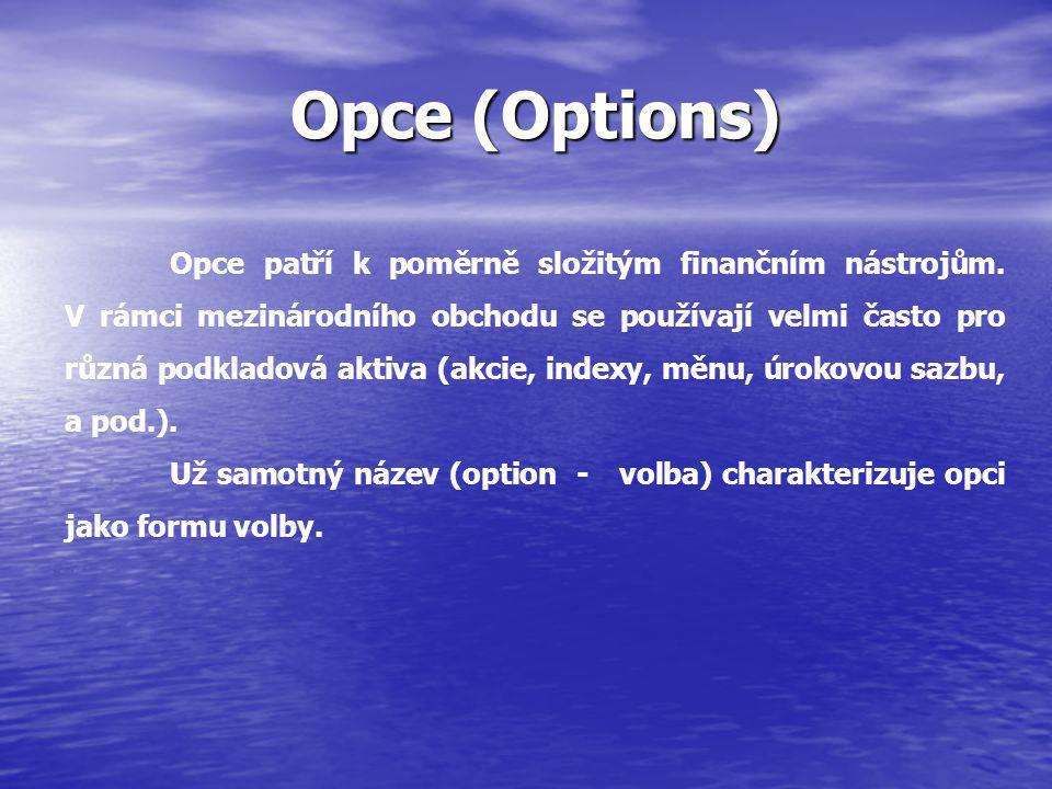 Opce (Options)