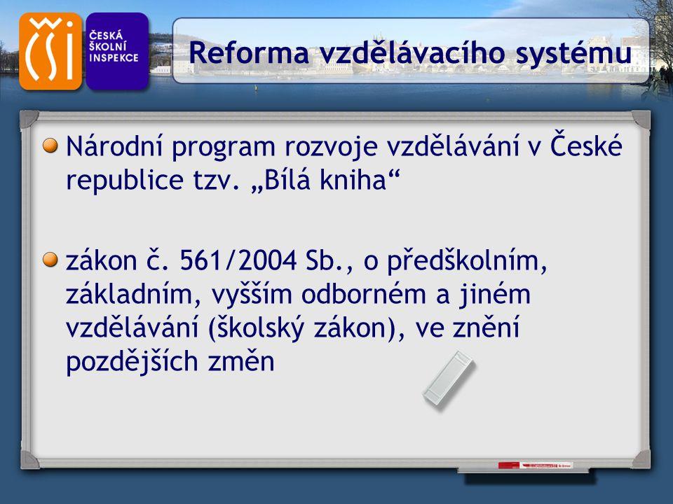 Reforma vzdělávacího systému