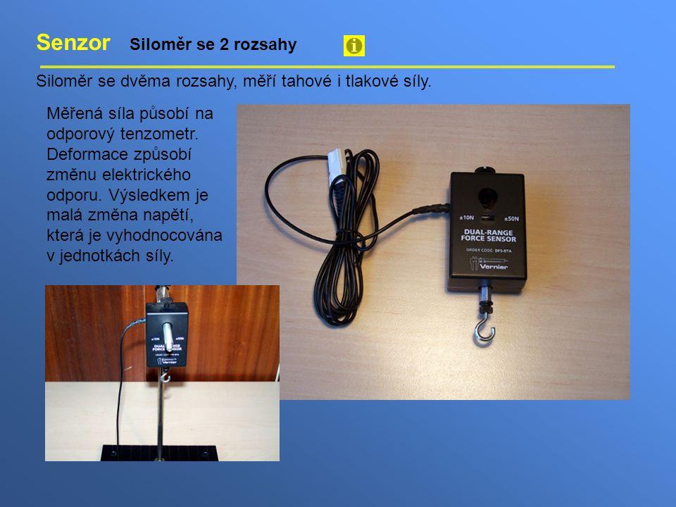 Senzor Siloměr se 2 rozsahy
