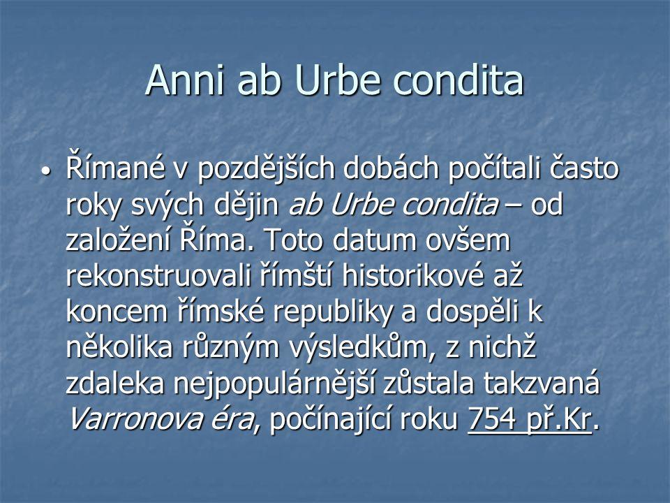 Anni ab Urbe condita