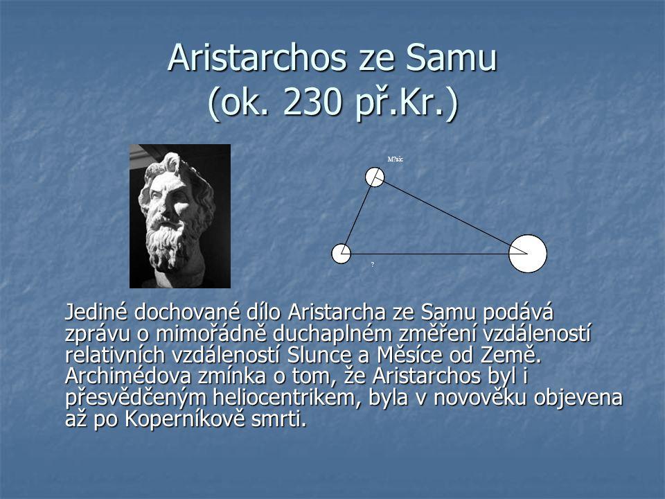 Aristarchos ze Samu (ok. 230 př.Kr.)
