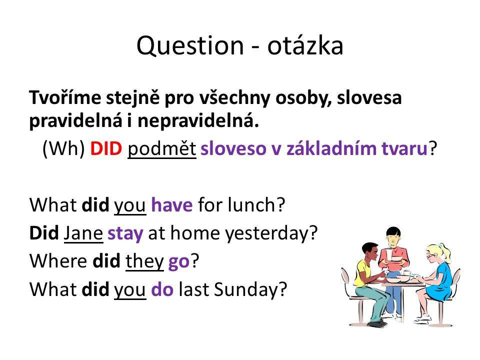 Question - otázka