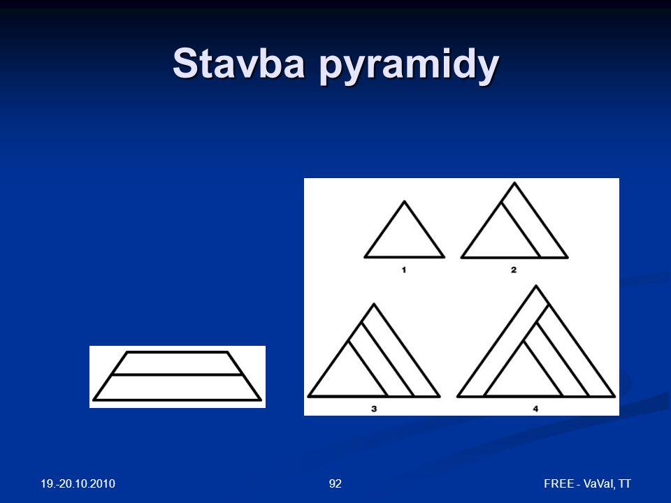 Stavba pyramidy 19.-20.10.2010 FREE - VaVaI, TT
