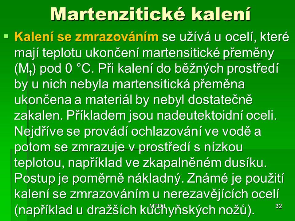 Martenzitické kalení