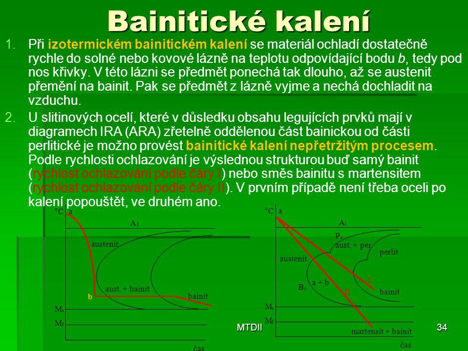 Bainitické kalení