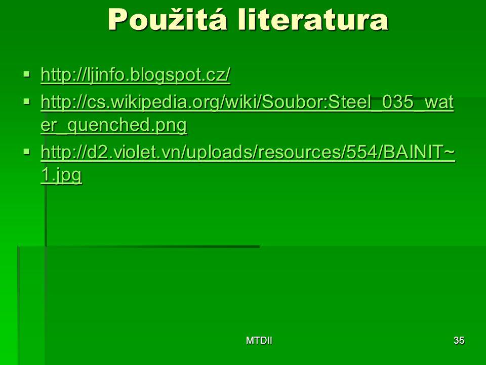 Použitá literatura http://ljinfo.blogspot.cz/