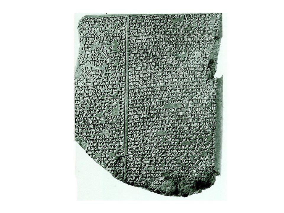 II. tabulka mezopotamského Eposu o Gilgamešovi, která popisuje příběh Utnapištima a potopy světa