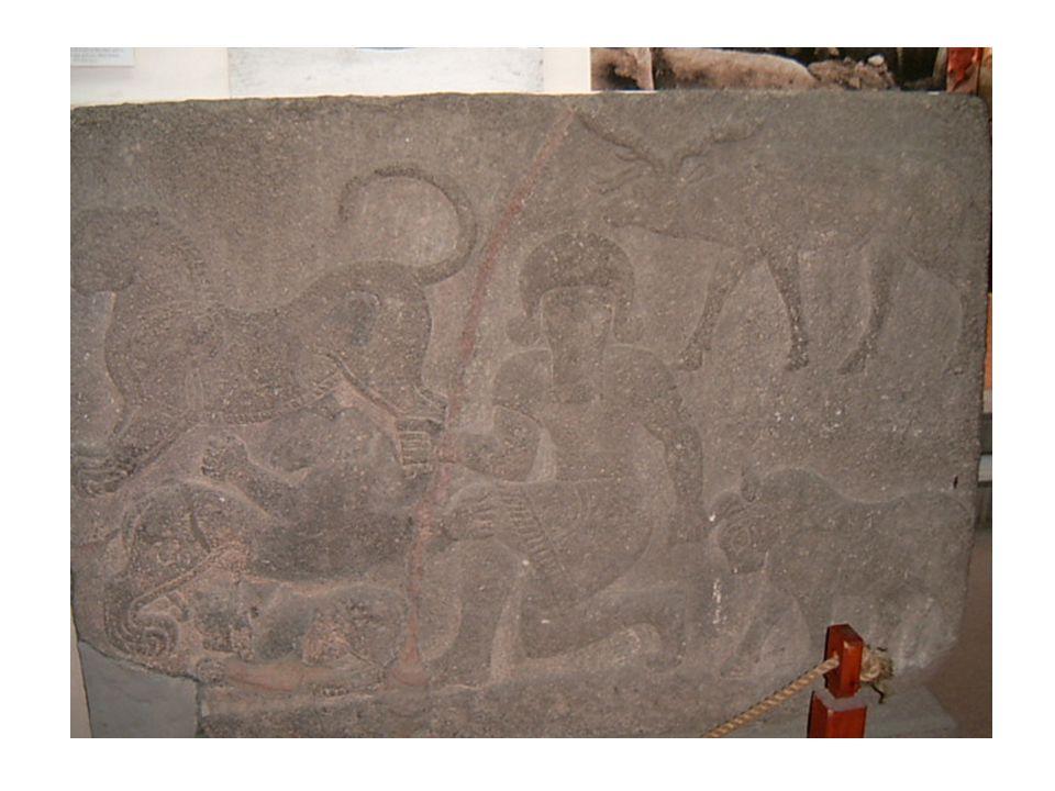 Gilgameš – reliéf, Ankara