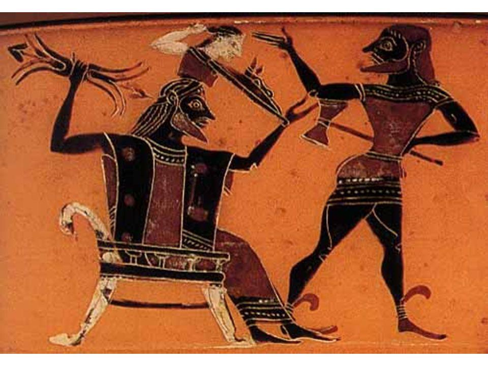 Zrození Athény, cca 570 př.Kr.