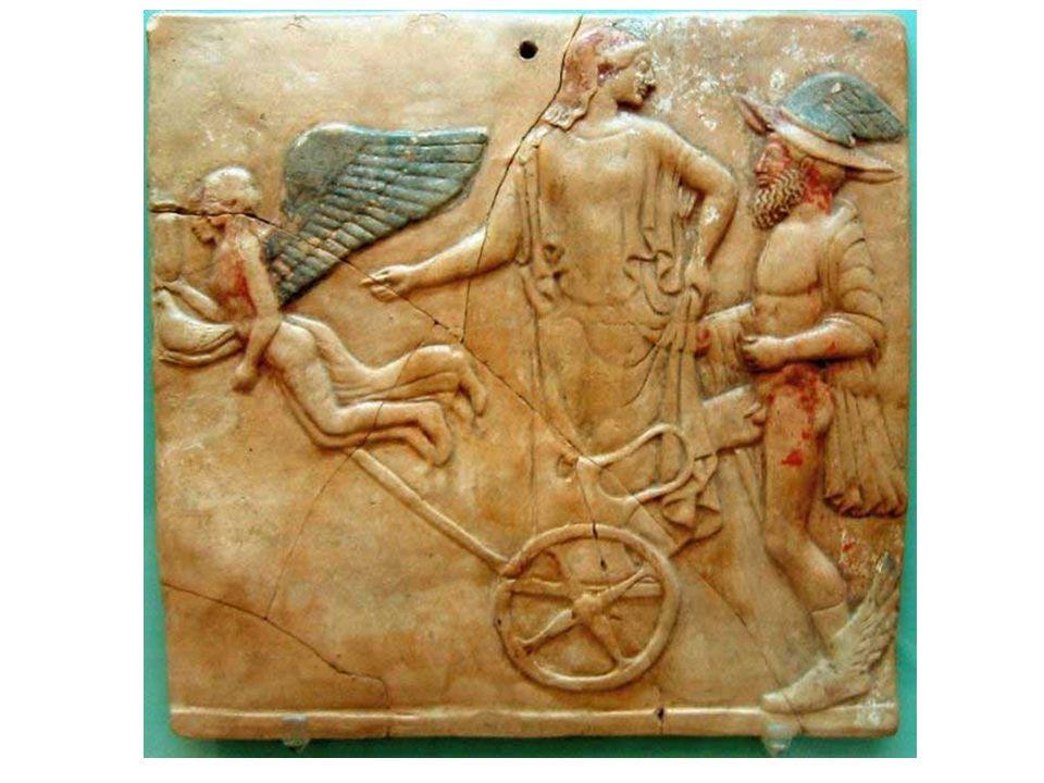 Eros, Hermés a možná Afrodité.