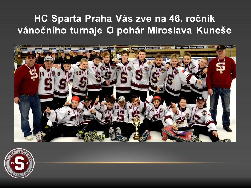 HC Sparta Praha Vás zve na 46