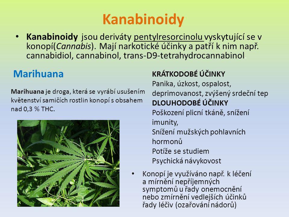 Kanabinoidy Marihuana