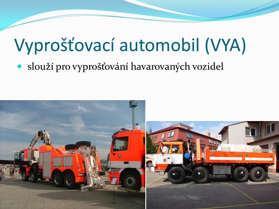 Vyprošťovací automobil (VYA)