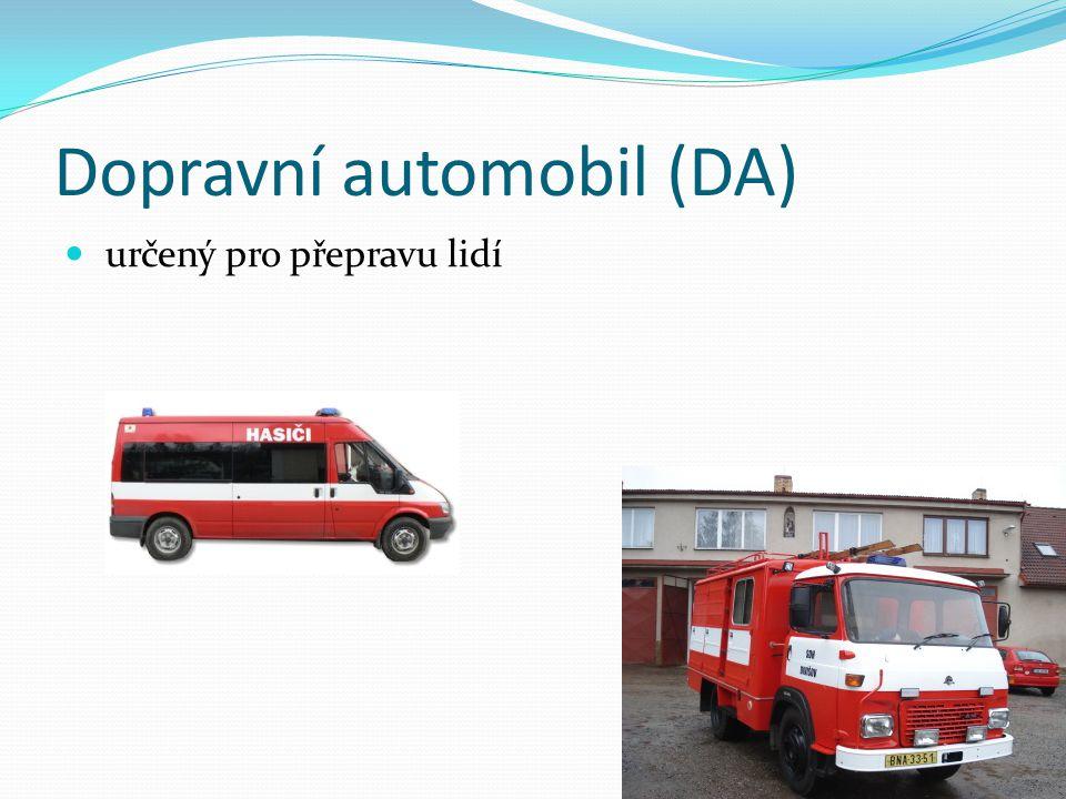 Dopravní automobil (DA)