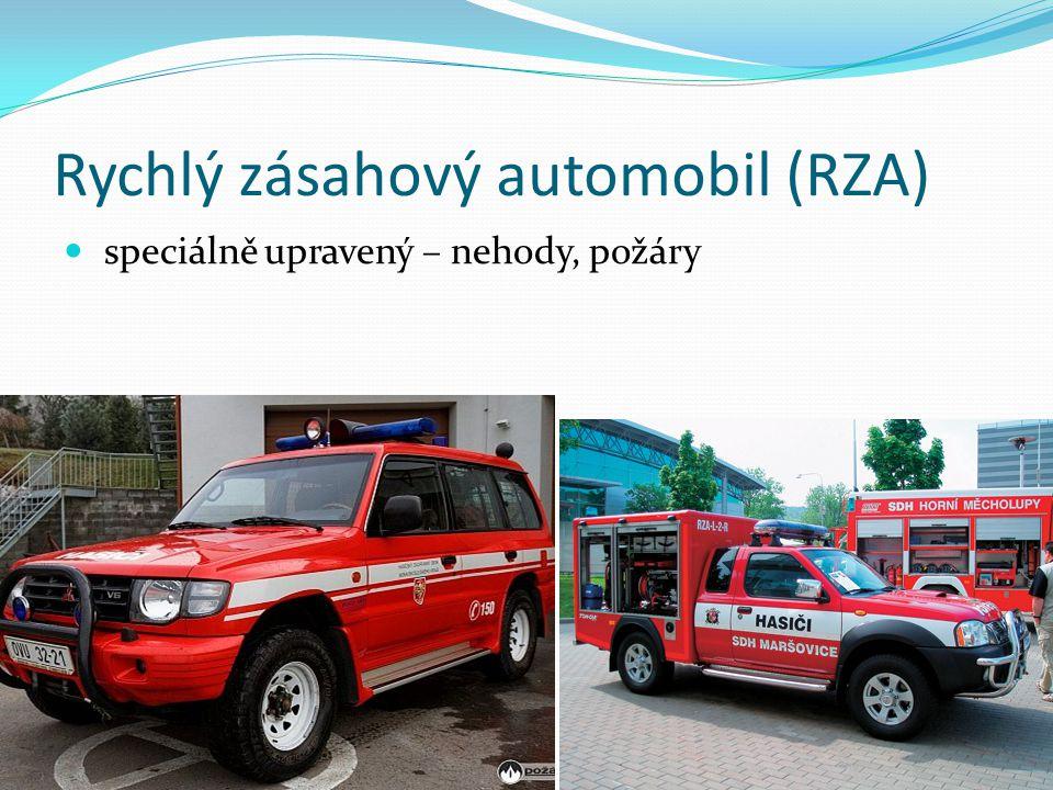 Rychlý zásahový automobil (RZA)