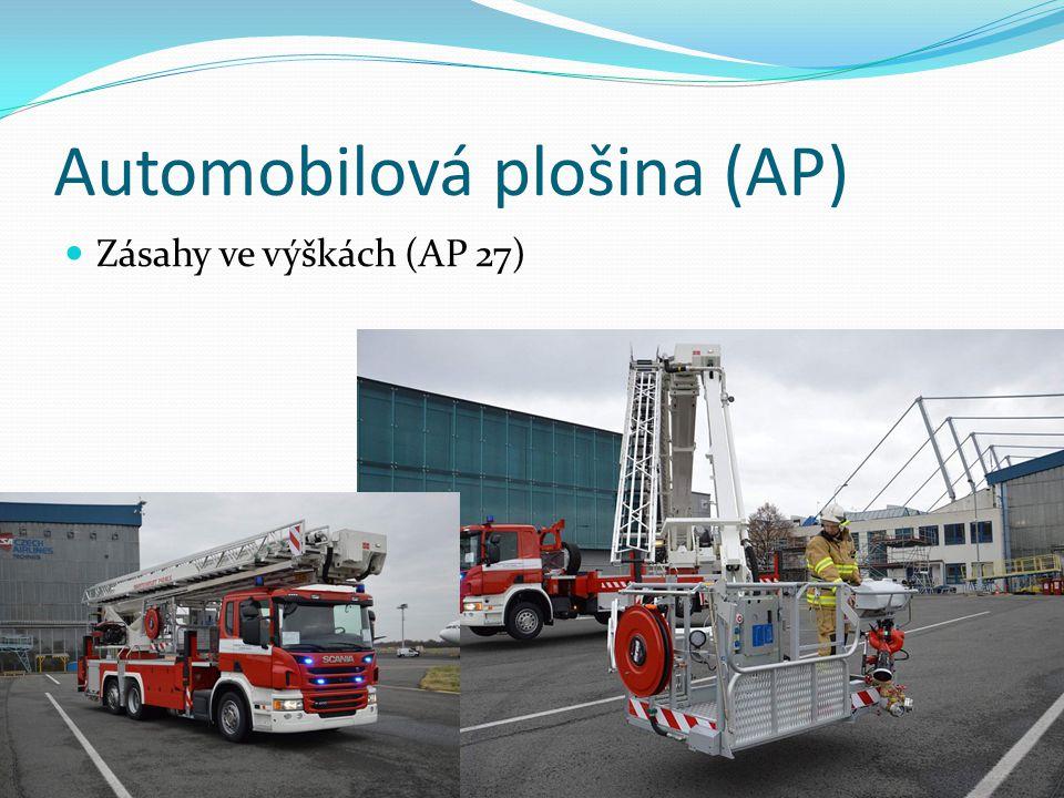 Automobilová plošina (AP)