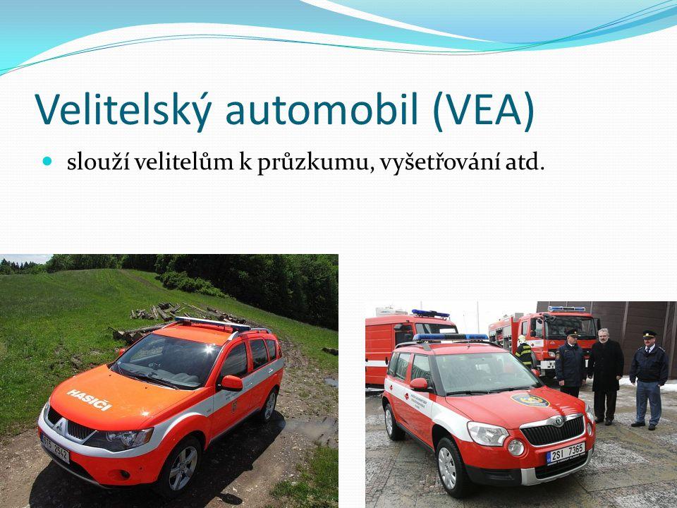 Velitelský automobil (VEA)