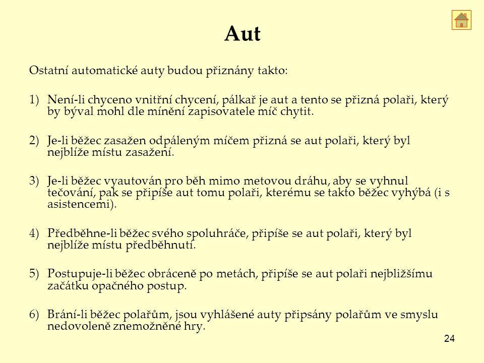 Aut Ostatní automatické auty budou přiznány takto: