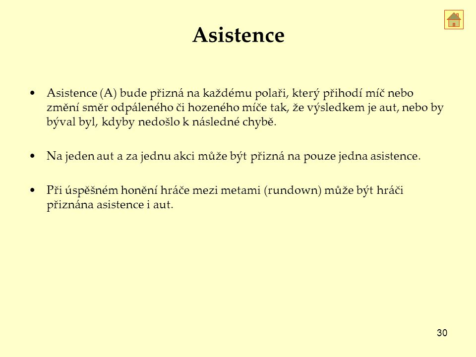 Asistence