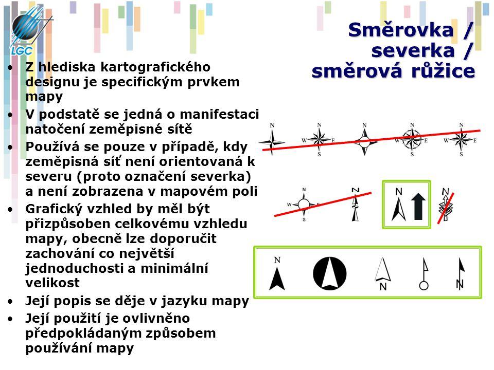 Směrovka / severka / směrová růžice