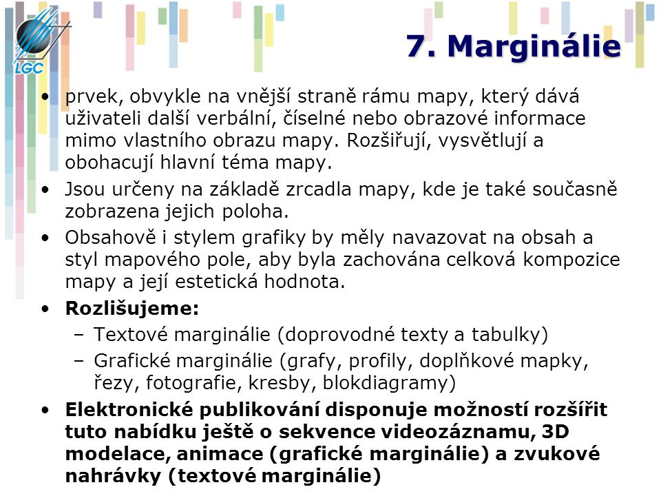 7. Marginálie