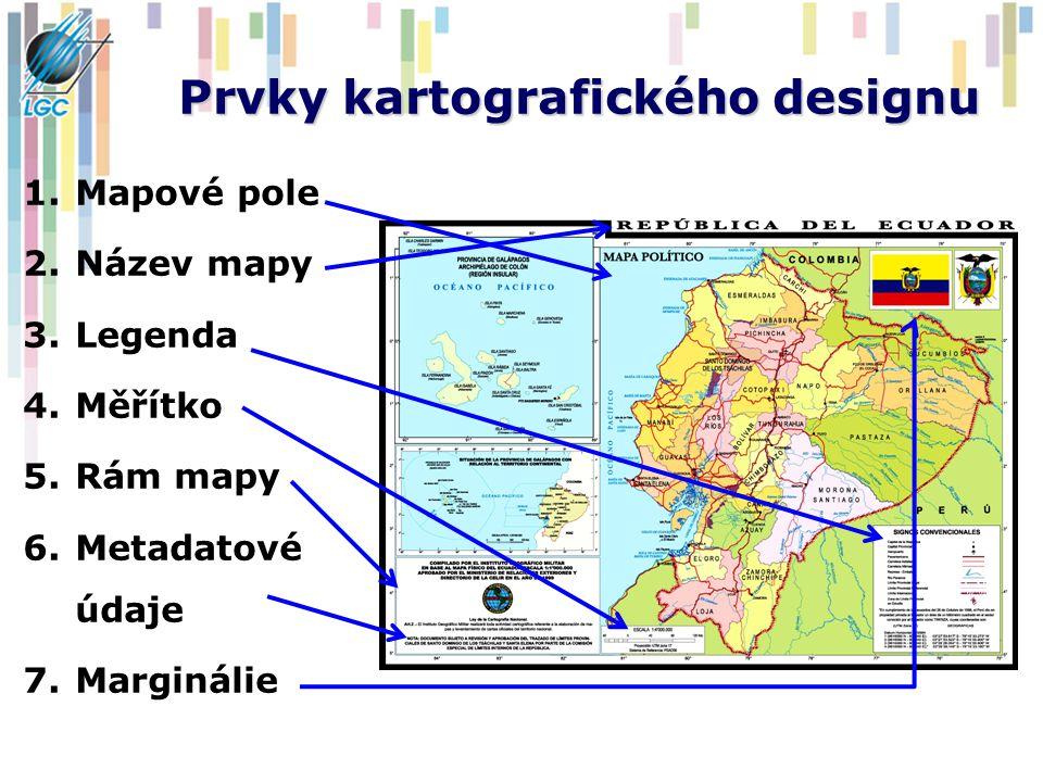 Prvky kartografického designu