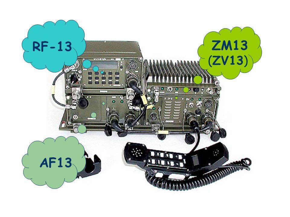 RF-13 ZM13 (ZV13) AF13