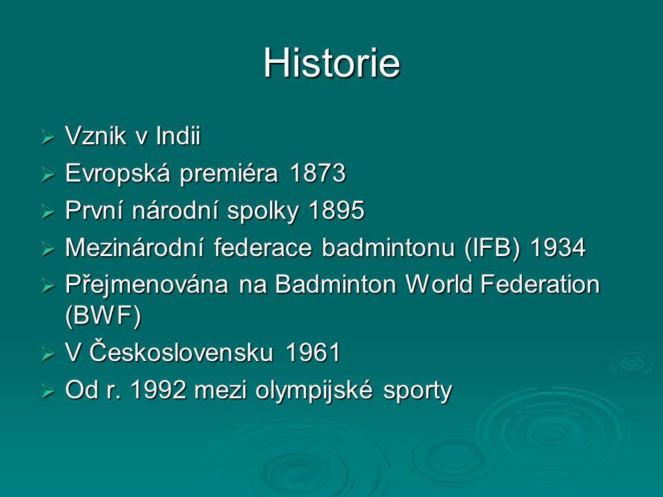 Historie Vznik v Indii Evropská premiéra 1873