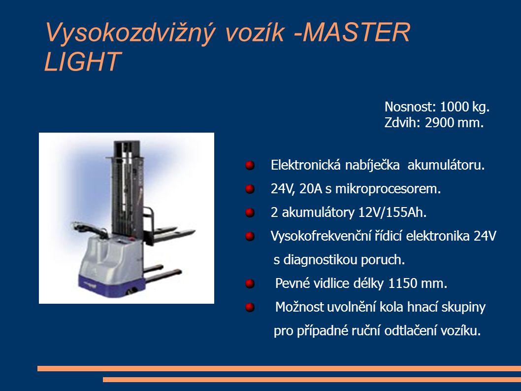 Vysokozdvižný vozík -MASTER LIGHT