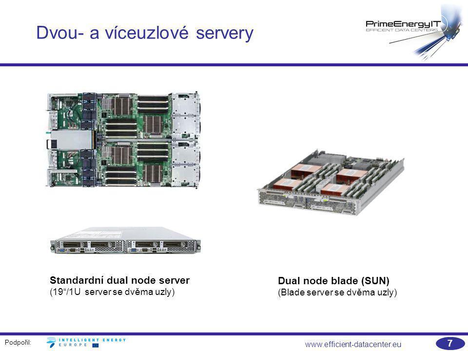 Dvou- a víceuzlové servery