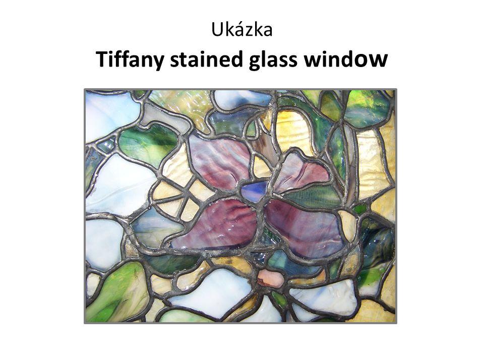 Ukázka Tiffany stained glass window