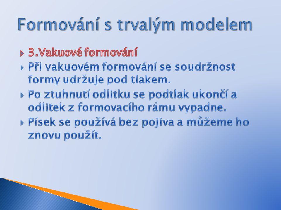 Formování s trvalým modelem