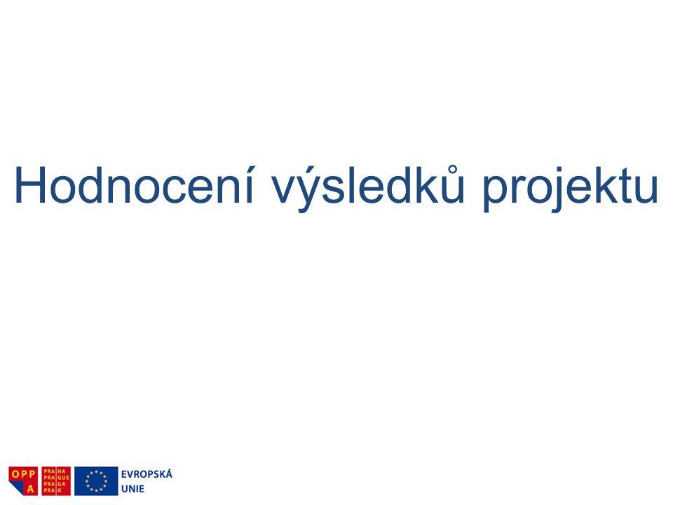 Hodnocení výsledků projektu