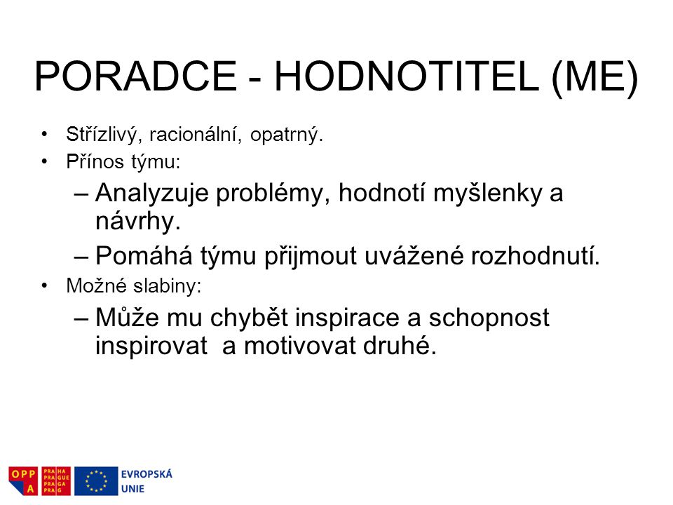 PORADCE - HODNOTITEL (ME)