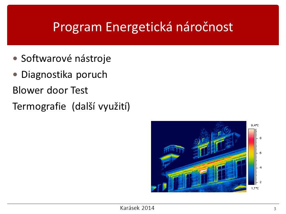 Program Energetická náročnost