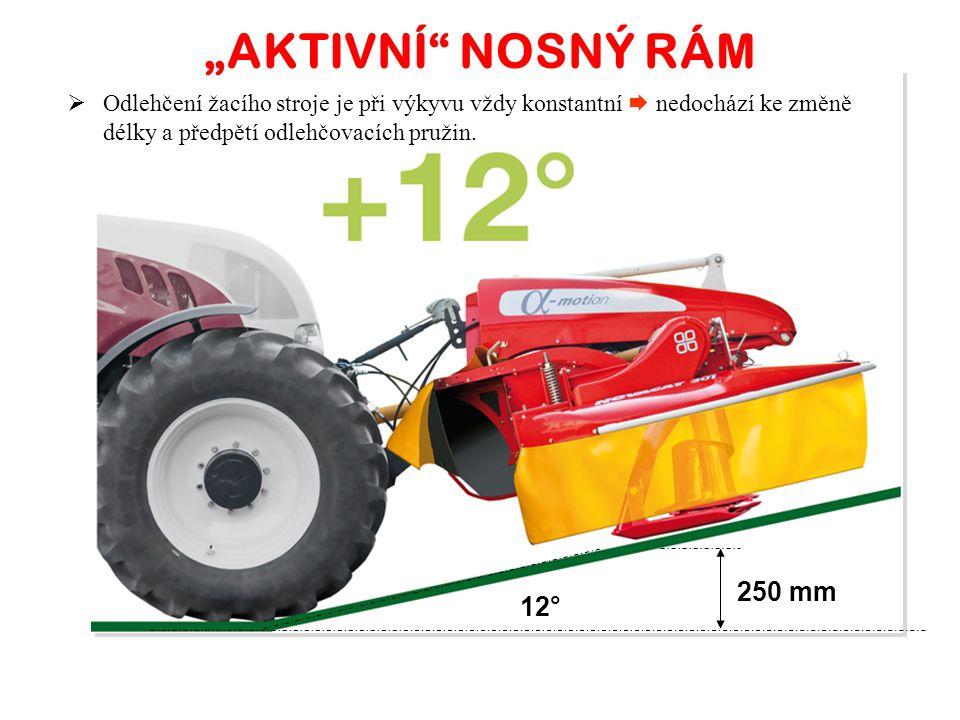 """""""AKTIVNÍ NOSNÝ RÁM 250 mm 12°"""