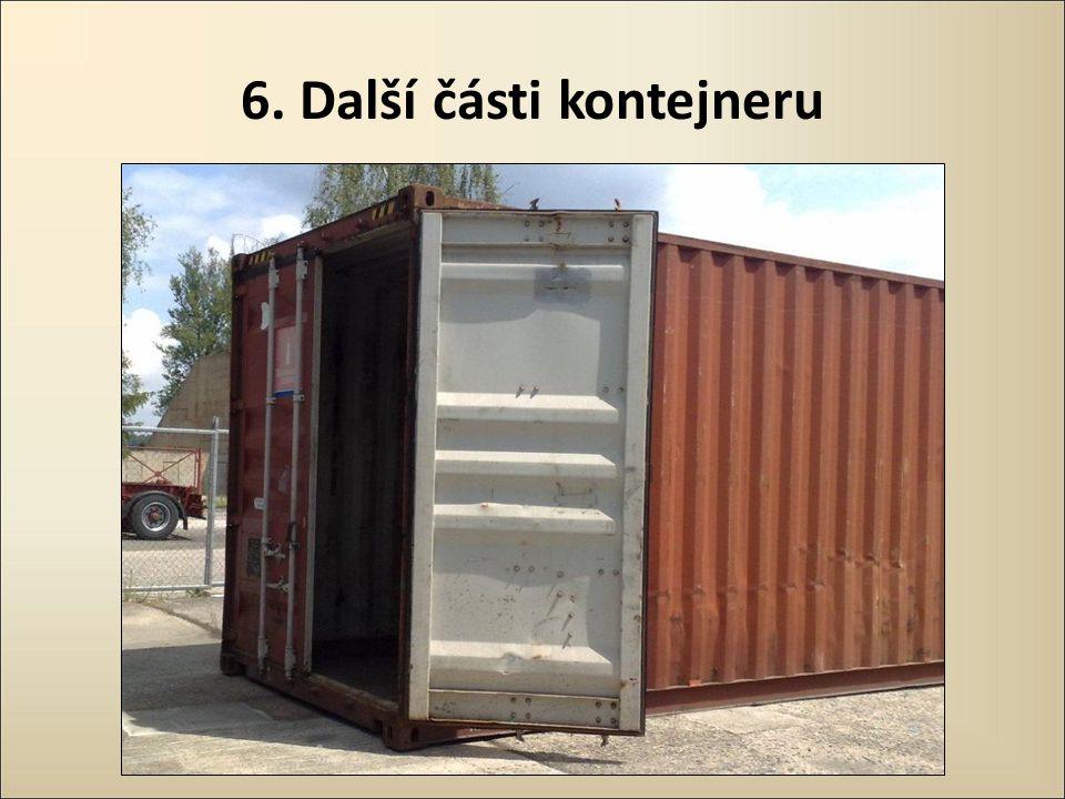 6. Další části kontejneru