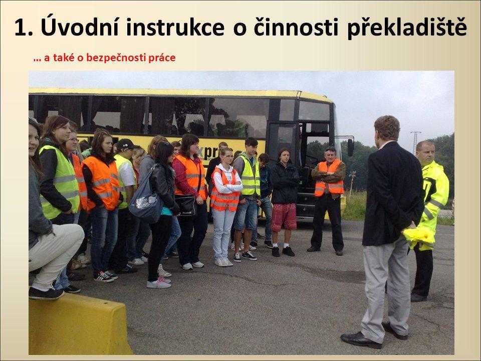 1. Úvodní instrukce o činnosti překladiště