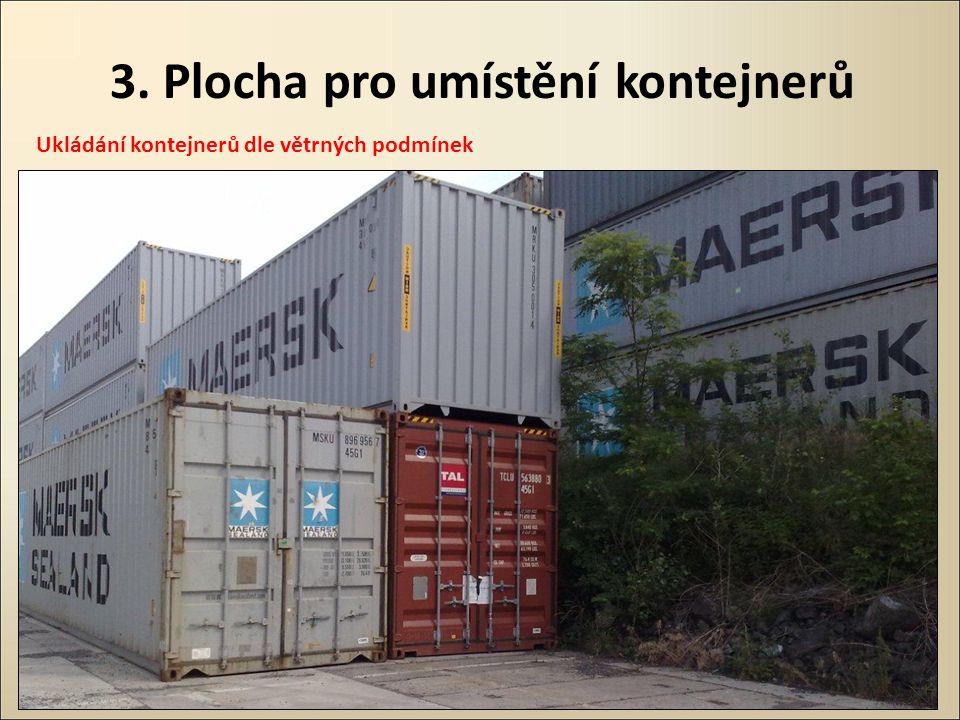 3. Plocha pro umístění kontejnerů