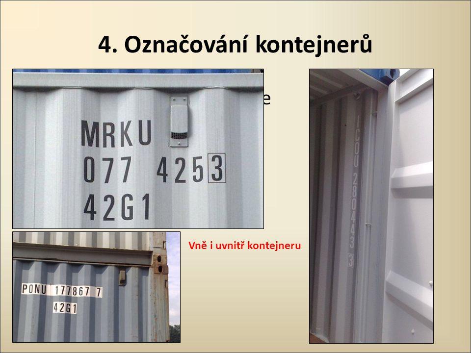 4. Označování kontejnerů