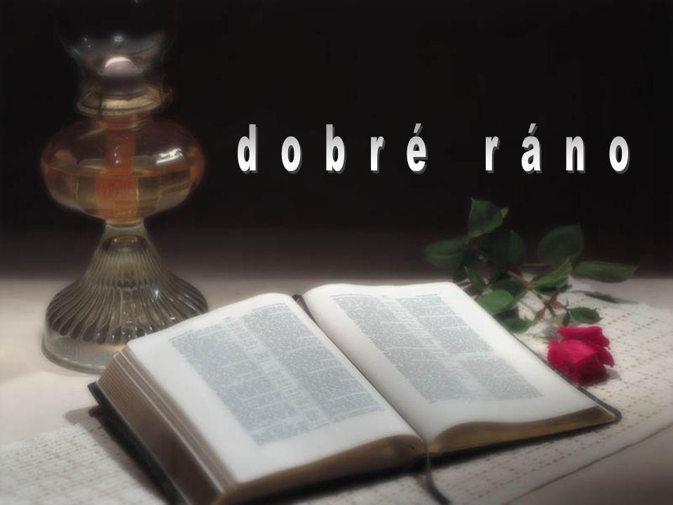 d o b r é r á n o Bible nikde nedokazuje existenci Boha. Kdysi jsem to myslel a hledal…