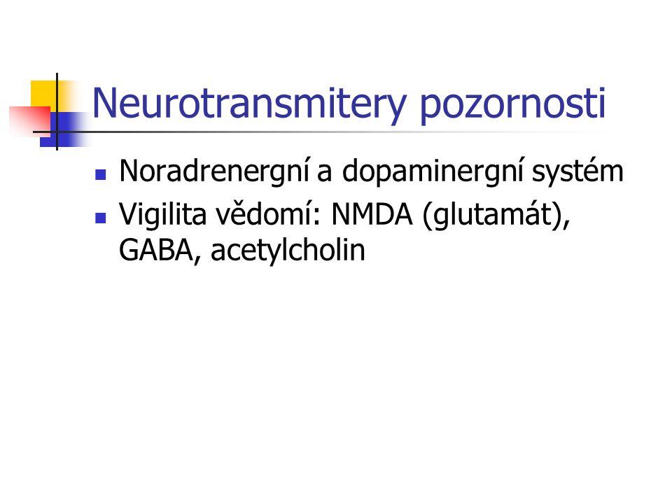 Neurotransmitery pozornosti