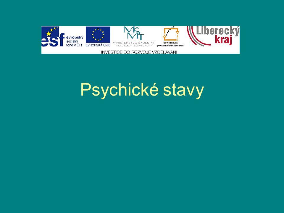Psychické stavy